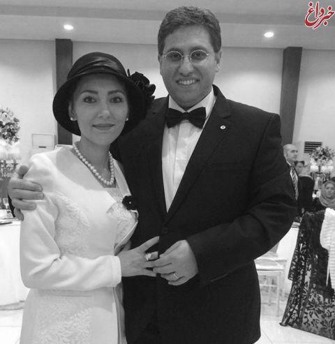 مهسا کرامتی در جشن عروسی برادر همسرش! + تصاویر