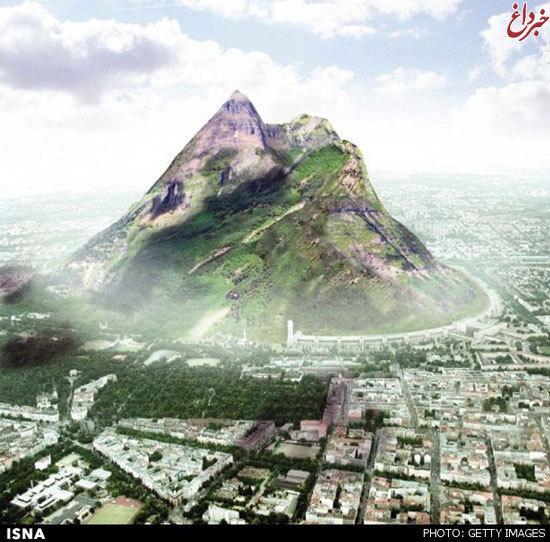 ساخت کوه مصنوعی با اندازه واقعی