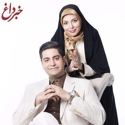 تبریک ویژه آزاده نامداری به همسرش به مناسبت روز مرد + عکس