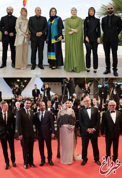 ایده طراحان لباس ایرانی در حد «کن» است؟