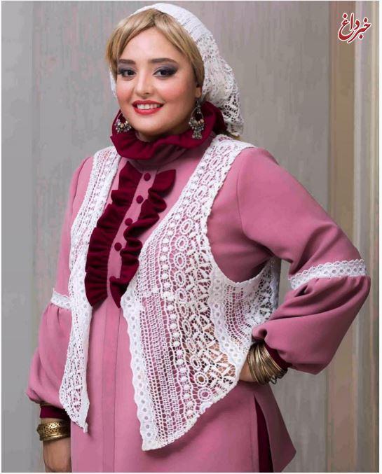 نرگس محمدی با ظاهر و پوششی کاملا متفاوت! + عکس