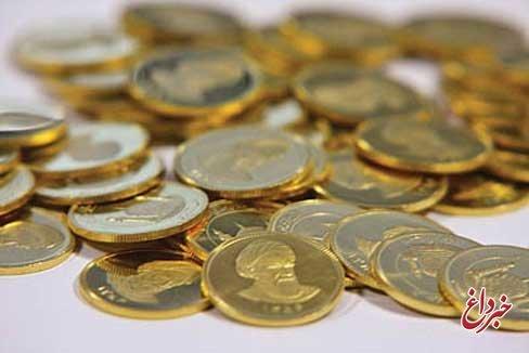 کاهش ۷۰۰۰ تومانی قیمت نیم سکه در بازار +جدول
