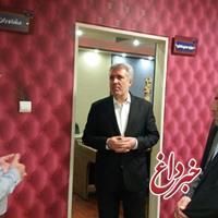 بازديد سرزده مونسان از شرکت مادرتخصصی توسعه ایرانگردی و جهانگردی