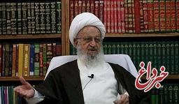 آیت الله مکارم شیرازی در دیدار ظریف: سفر رئیس جمهور به عراق، سیلی محکمی بر دولتمردان آمریکا بود/ اگر آمریکاییها قدری هوش داشته باشند، باید بفهمند محاسباتشان غلط است