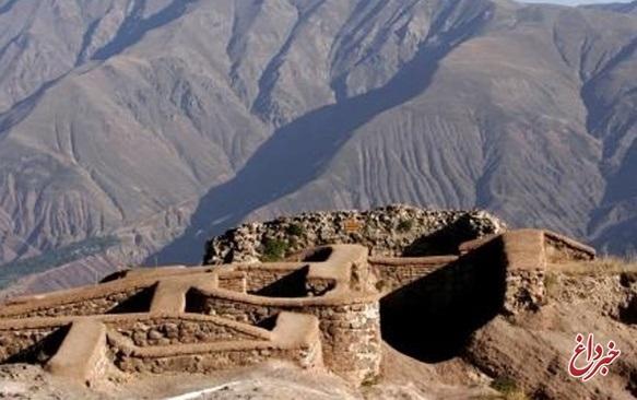 توقف موقت بازدید گردشگران از قلعه الموت