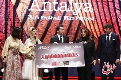جایزه بهترین فیلم جشنواره آنتالیا به جعفر پناهی تعلق گرفت