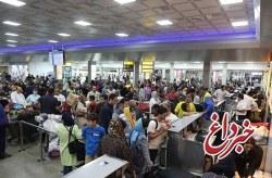 ثبت رکورد بیشترین تعداد پرواز و مسافر در فرودگاه بین المللی کیش در نوروز 98