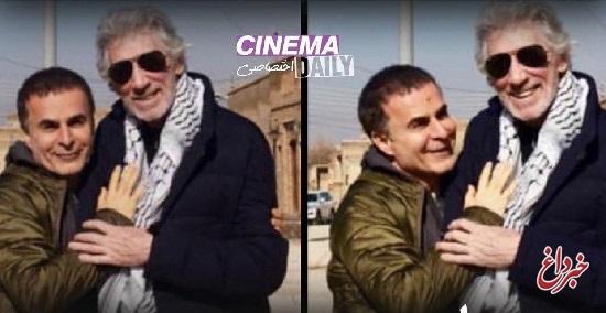 فیلمسازی بهمن قبادی با راجر واترز