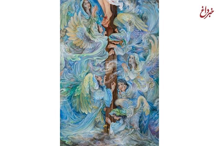 اثر استاد فرشچیان در یازدهمین حراج تهران
