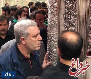 سفر دکتر مونسان به کربلای معلی در آستانه اربعین حسینی